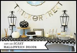 not so scary halloween decor creative home