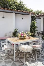 Chairs With Metal Legs 30 Awesome Outdoor Dining Area Furniture Ideas Digsdigs