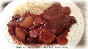 la cuisine de mes envies tranches de coeur de boeuf au vin en cocotte ma cuisine salée