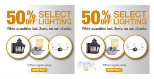 Home Depot Canada Lighting Clearance Sale Up To  Off - Home depot lighting canada