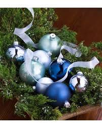 fall sale winter wonderland glass christmas tree ornaments set of 42