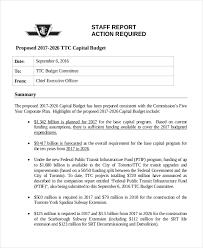 sample budget sample capital budget proposal 6 budget proposal
