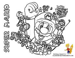 coloring pages of mario characters mario kart characters coloring pages coloring home