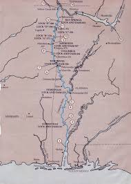 Tennessee River Map Inland Rivers In The Usa