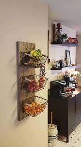 kitchen basket ideas best 25 rangement mural cuisine ideas on