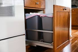 Kitchen Cabinet Trash Can Pull Out Gallery The Ohio Cabinet Maker