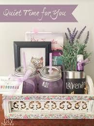 lavender gift basket essential gift basket ideas hopdiy show diy