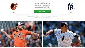 105 7 the fan baltimore top mlb pick new york yankees vs baltimore orioles 4 5 18 thursday