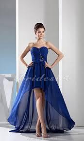 a linie herzausschnitt knielang chiffon brautjungfernkleid mit gestupft p551 bridesire jugendweihekleider 2017