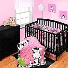 Pink Zebra Crib Bedding 10 Baby Boom I Zebra Crib Bedding Set