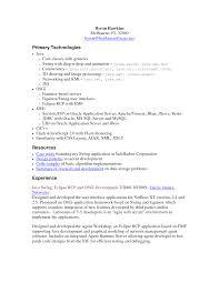 Senior Net Developer Resume Sample by Senior Net Developer Resume Free Resume Example And Writing Download