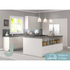 frosted glass kitchen wall cabinets j collection shaker assembled 30x30x14 in wall cabinet with