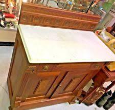 Antique Marble Top Nightstand Antique Nightstands 1800 1899 Ebay