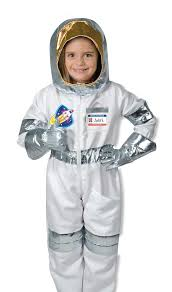Astronaut Toddler Halloween Costume Amazon Melissa U0026 Doug Astronaut Role Play Costume 5 Pcs