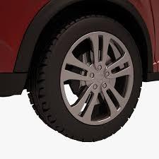 nissan juke alloy wheels nissan juke 002 red auto 3d cgtrader
