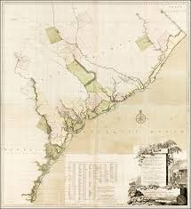 map of sc a map of south carolina and a part of containing the