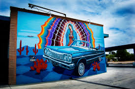 a little list of fantastic murals and where to find them tucson car wash mural