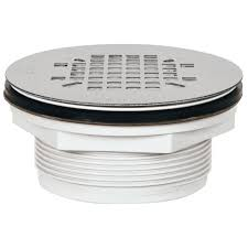 sioux chief 2 in pvc shower drain with strainer 828 2pk the