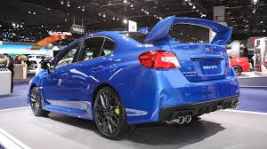 subaru lifted 2018 subaru wrx and sti pack improved tech into fresh faced package