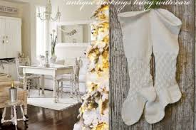 40 shabby chic country christmas decor awesome shabby chic
