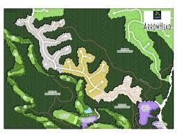 siteplan lake arrowhead