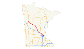 State Of Mn Map by U S Route 10 In Minnesota Wikipedia