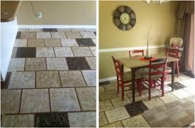 kitchen how to paint vinyl or linoleum sheet flooring inside cheap