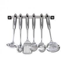 barre ustensiles cuisine barre avec 6 ustensiles de cuisine inox