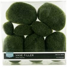 Moss Vase Filler Akasha Accents Home Decor Accents Faux Moss Rocks Akasha