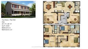 2 Story Home Floor Plans House Plans For Modular Homes Chuckturner Us Chuckturner Us