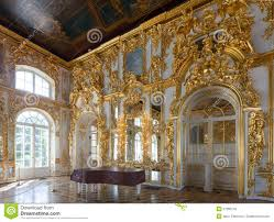 ornate interior of the catherine palace stock photo image 51677755