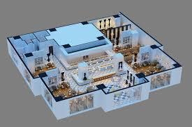 awesome 70 3d restaurant floor plans decorating design of