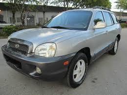 2004 hyundai suv 2004 hyundai santa fe gls in margate fl kd s auto sales