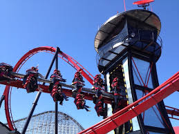 Six Flag Illinois Six Flags Great America Previews X Flight Amusement Today
