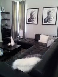Mini Living Room Redo Classic Black White And Gold With Pops - Black and white living room decor