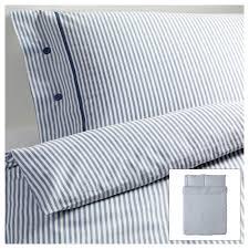 nyponros duvet cover and pillowcase s white blue duvet queens