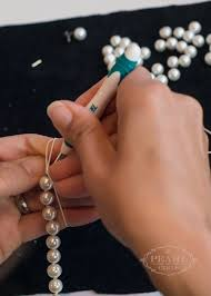 make pearl necklace images A pearl jewelry repair service jewelry return kit the pearl