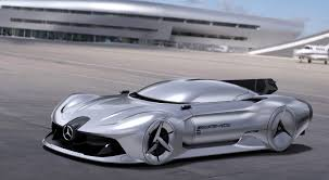 future mercedes 2040 mercedes benz streamliner is a retro futuristic concept