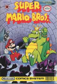 super mario bros 1990 1st series comic books