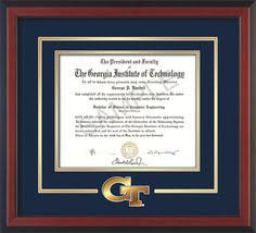virginia tech diploma frame jefferson college of health sciences diploma frame with seal