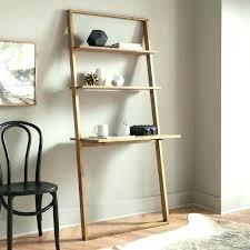 ladder bookcase desk bookcase with desk in espresso finish ladder