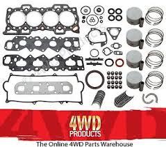 daihatsu feroza engine engine reconditioning kit daihatsu feroza 1 6 hd e 88 98 ebay