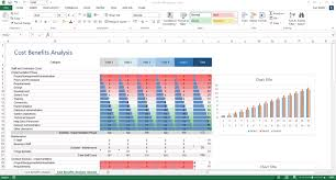 Excel Costing Template Cost Benefit Analysis Template