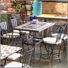 Bar Height Patio Furniture by Bar Height Patio Furniture Set Patios Home Design Ideas