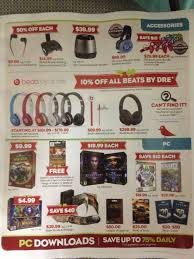 gamestop s leaked black friday 2013 deals flyer nintendo
