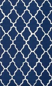 Royal Blue Outdoor Rug The Rug Market Romantique Chic Fruit Toile Blue Rug Country