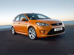electric orange ford focus st mk2 facelift focus ford st mk2