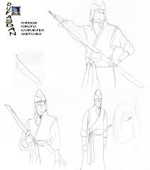 random naruto character sketch by dufasdan on deviantart