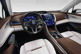 lexus ux concept interior subaru ascent concept floor at the new york autocarweek com