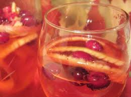 fancy fizzy and festive thanksgiving punch